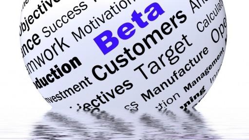 Beta Sphere Definition Displays Trial Version Or Testing