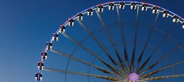 Big wheel, Paris, Ile-de-france, France