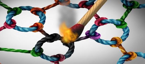 Network Attack Concept